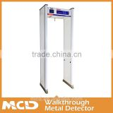 Door Frame Entrance Gate Walk Through Metal Detector Designed for Hotels