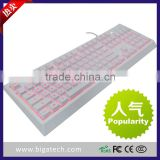 Latest and cheapest Mechanical hand feeling keyboard wired mechanical gaming keyboard backlight keyboard