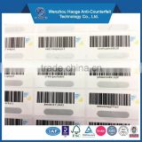 Barcode,High security,Eco-friendly,Non toxic Feature and Adhesive Sticker Type serial number sticker