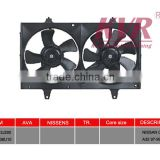 Auto Radiator Fan for NISSAN OEM NO. M:21487-3J200/S:21483-38U10/BL:21486-3J210/BR:21486-3J200