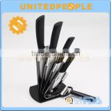 Hot sell high quality useful and durable cutlery set kitchen wares modern kitchen design obsidian kitchen knife