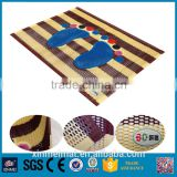 Wholesale antislip bathroom Outdoor Rugs Recycled Plastic Reversable