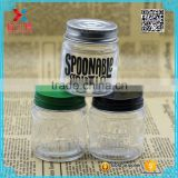 wholesale 50ml round shape glass honey jar with metal cap                                                                                                         Supplier's Choice