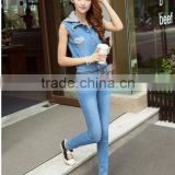 Jeans Women New Style skinny Zipper overalls jean Fashion Designer high waisted jean for women