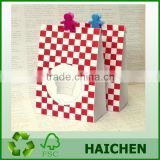 bulk cheap price plastic christmas gift bags in best pe granules by guangdong manufacturer