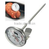 NEW Stainless Steel Pocket Probe Thermometer Gauge For BBQ Meat Food Kitchen Cooking Instant Read Meat Gauge