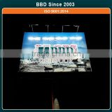 Professional manufacturer outdoor steel structure led solar powered billboard