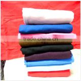 100 cotton dyed flannnel stocklot fabric in china