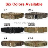 Customize Six Colors field gear tactical web pistol paintabll airsoft military US army marine BDU duty web belt CL11-0014