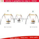 2015 New design high quality kids outdoor swing , kids single swing , outdoor round swing for sale