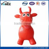 Best selling keep warm inflatable animal rider