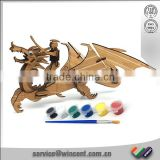 New design of dragon 3D puzzle Bamboo