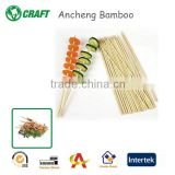 Disposable Round Bamboo Sticks In Vietnam For Making Bbq