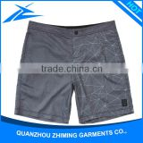 Cheap Printed Fabric Printed Wholesale Boys Swim Pants Custom Waterproof Pockets Swim Trunks Wear