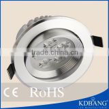 LED lighting factory wholesale hihg power 5w Recessed led downlight                                                                         Quality Choice