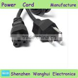 UL outdoor extension cord/power cord/power supply cord/