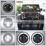 Vinstar Round 7 inch led headlight For Jeep Wrangler Light Off-road Lighting for Jeep Wrangler