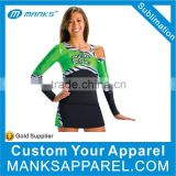 Personalized Ladies Sexy Design High School Cheerleading Uniforms