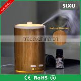 2016 bamboo & plastic warm LED Ultrasonic aroma humidifier/ essential oil diffuser/ Aroma Diffuser YD-018                                                                         Quality Choice                                                     Most P