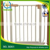 wooden baby safety gate stair gate