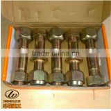 Lonking and XGMA Wheel Loader Spare Parts Axle Rim Bolt&Nut