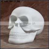 DIY popular blank white skull vinyl figures/make design skeleton vinyl figure collection/custom vinyl figure toys production