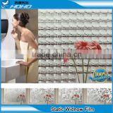 bathroom wall sticker Bathroom glass film grilles static film without glue stickers translucent opaque matte Balcony