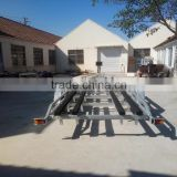 36ft super capacity tri-axles boat trailer for sale