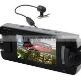2.7 Inch 720P HD 360 Degree Triple Car Security Camera Auto DVR with G-sensor Motion Detection