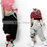 2015 fashion women hip hop loose dance sweat pants