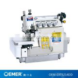 OEMER-EXT5214DD Ultra high speed direct-drive overlock sewing machine top and bottom feed