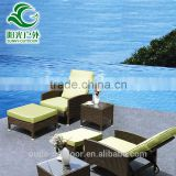 2016 Hot sales outdoor garden lounge chair with canopy
