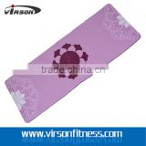 Virson custom printing eco-friendly natural rubber yoga mat                                                                                                         Supplier's Choice