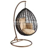 Synthetic Rattan Hanging Swing Chair Leisure Outdoor Swing Egg Chair                                                                         Quality Choice