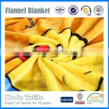 Supply new arrival super soft flannel roll up travel outdoor blankets