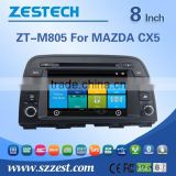 car dvd player with reversing camera for MAZDA CX5 with Rear View Camera GPS BT Radio RDS