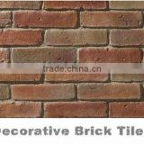 High Quality Faux Exterior Wall Used Face Red Bricks