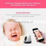 Trade Assurance Supplier Crying detection Temperature Humidity Sensor baby monitor battery powered cctv cameras