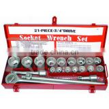 20pcs 3/4DR. Socket Tool Kit craftsman tools socket set stanley tools