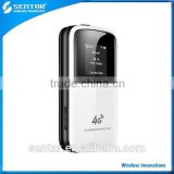 WIFI HOTSPOT 4G TDD-LTE FDD-LTE Cat 4 LTE 150Mbps Mobile WiFi mini 3g 4g wifi router With TF Card Slot