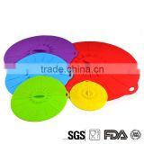 China Alibaba Express DHL Non Spill Feature Silicone Suction Lids