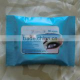 eye makeup remover wet wipes, facial cleaning wet towel