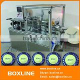 Automatic pleated bar soap wrapper