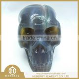 crystal amethyst agate geode skull with high quality best gift for lovers or home decoration
