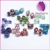 Big sale different color different shape lampworked glass beads in bulk