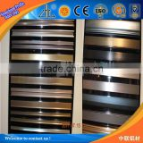 Polishing aluminum profiles for aluminium bathroom doors profile