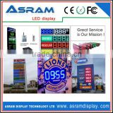 Alibaba Wholesale CE approved Ph10 Outdoor New P10 Outdoor full color gas station led price sign