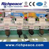 Richpeace Automatic 6 Heads Cap and Tubular Embroidery Machine