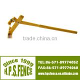 Fencing post lifter for barbe wire fence