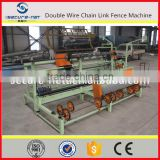 PVC coated chain link manual fence making machine(manufacturer)